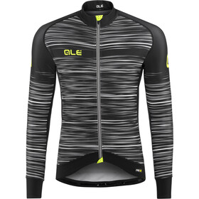 Alé Cycling Graphics PRR The End Longsleeve Jersey Heren, black-white